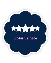 Image of our 5 star service