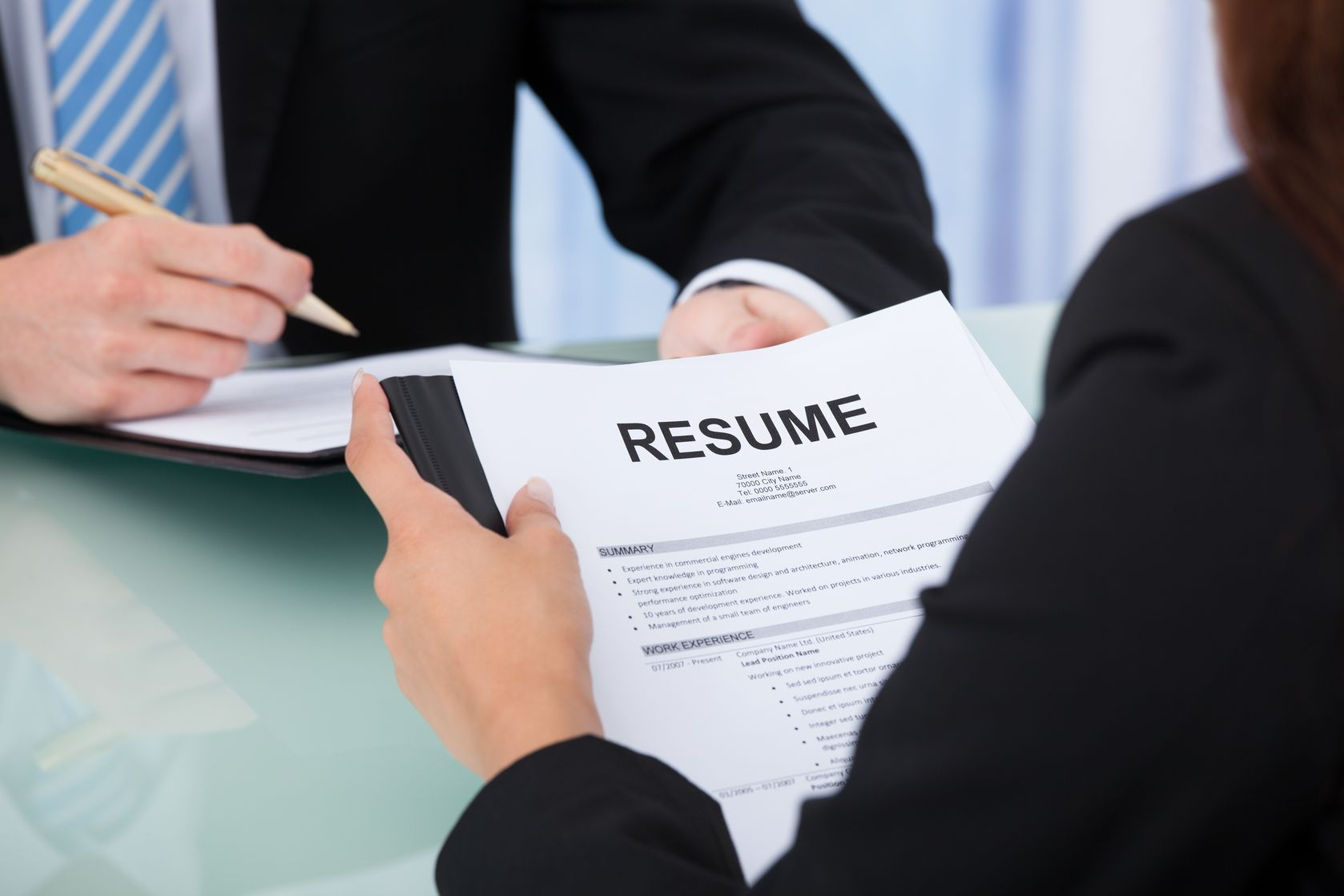 CV Writer May Help To Achieve Perfect Job In Any Sector